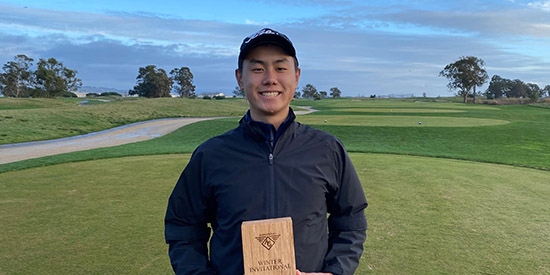 By the time the skies cleared, Darren Pang was the champion