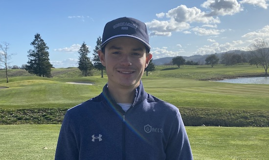Ethan Farnam almost tied the course-record at Coyote Creek's Valley Course