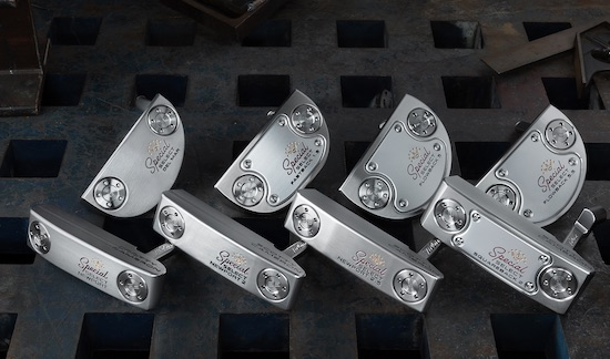 New Scotty Cameron Special Select Putters (Titleist photo)
