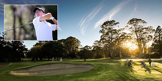 - New Zealand golf photo