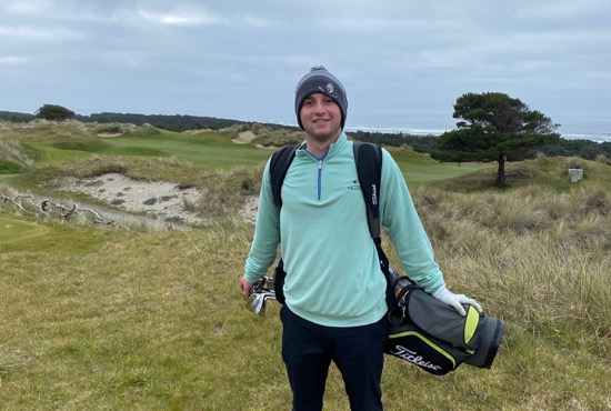 Simon Zacks enjoyed one of the last rounds at Bandon Dunes