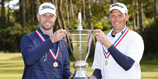 Todd Mitchell (L) and Scott Harvey (Steve Gibbons/USGA photo)