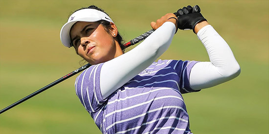 Natalie Srinivasan of Furman wins the ANNIKA Award