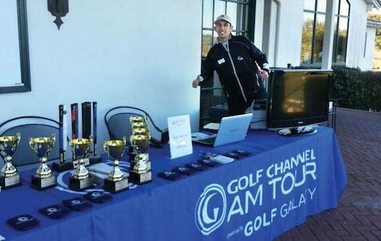 Bay Area Golf Am Tour director Danny Cacho in 2013 <br>Napa Valley Register photo