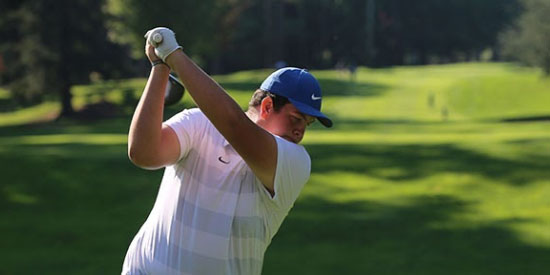 Garrett Woodin (Montana State Billings men's golf photo)
