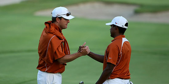 Jean-Paul Hebert (left) won the Jan Strickland Award (Golfweek photo)