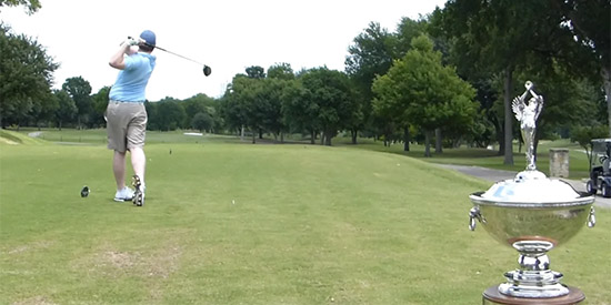 - Texas Golf Association video screen shot