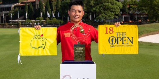 2019 champion Yuxin Lin (USC photo)