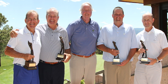 (L to R) Chip Lutz, David Nelson, Rick Coe, Chas Narramore, & Ryan Greer (Charlie Coe Inv. photo)