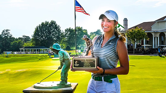 Kuehn Survives Long Final Day To Take North South Women S Am