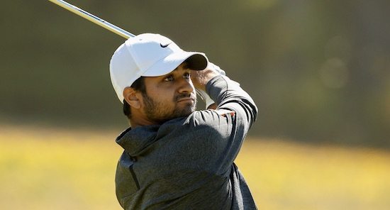 Aman Gupta fell in love with the front nine at Bandon Trails today