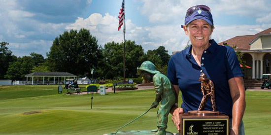 Martha Leach (John Patota/Pinehurst Resort photo)