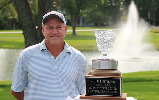 Tim Sheppard won his second Illinois Senior title in three years