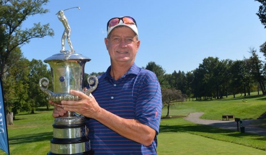 New Jersey Senior winner Adam Kugler (NJSGA photo)