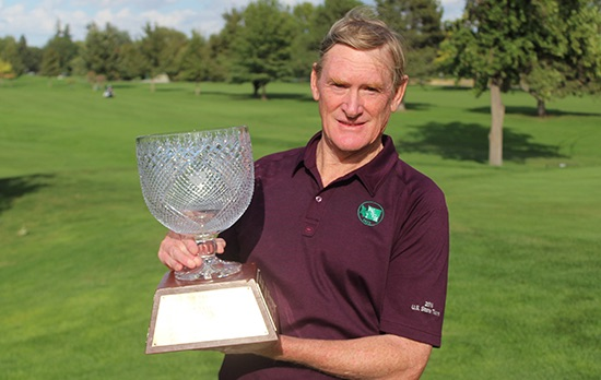 Washington Senior Amateur champion Tom Brandes (Washington Golf photo)