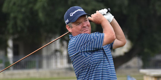 Texas Senior Amateur winner John Derrick (Texas Golf Association photo)