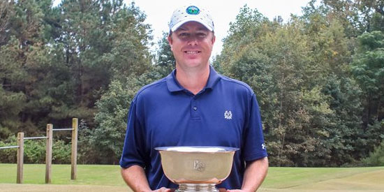 Chad Wilfong (Carolinas Golf Association photo)