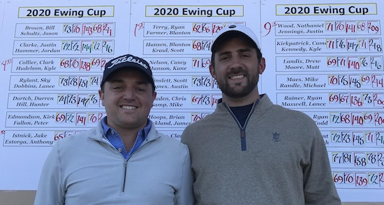Mid-Am champs Blanton Farmer (left) and Ryan Terry