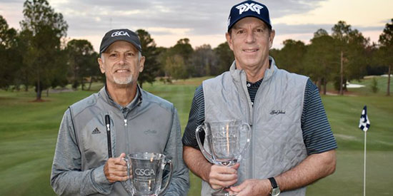 Doug Hanzel (L) and Bob Royak (GSGA photo)