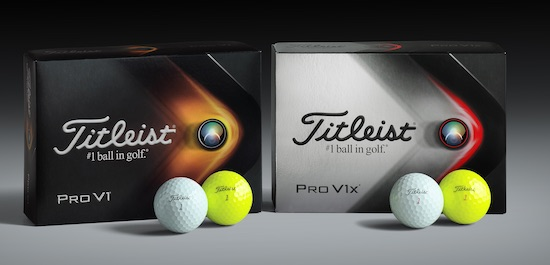 Titleist releases new Pro V1 and Pro V1x for 2021