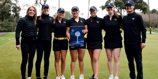 Wake Forest Women's Golf Team (Wake Forest Athletics photo)