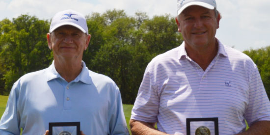 L-R: Mike Vacek, David Ortego (TXGA photo)