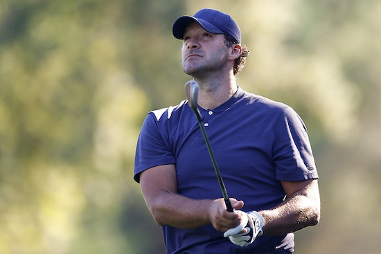 Tony Romo (photo courtesy Veritex Championship)