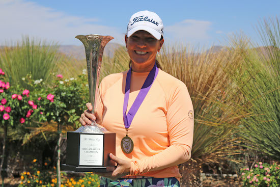 Mid-Am winner Meghan Stasi