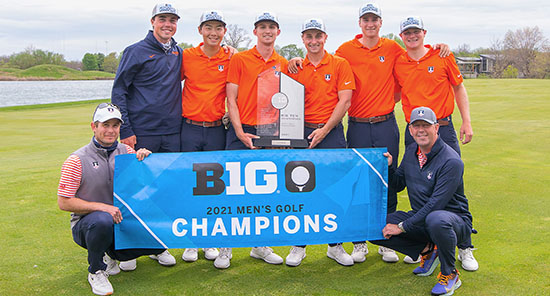 - Illinois men's golf photo