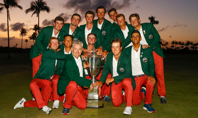 The USA claimed their third-straight Walker Cup<be>Chris Keane, USGA